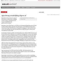 Apax dwong verzakelijking uitgever af