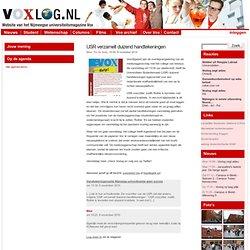 » USR verzamelt duizend handtekeningen Voxlog