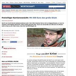 Verzicht auf Konsum und Karriere: Porträt des Berliners von Jorck