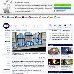 'UMC Utrecht verzwijgt twee dodelijke incidenten op KNO-afdeling'