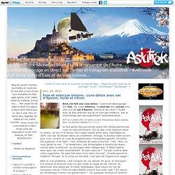 Foie et vésicule biliaire : cure détox avec sel d'Epsom, huile et citron : Asiatrek : du Mont Saint-Michel au Mont Fuji à Vélo
