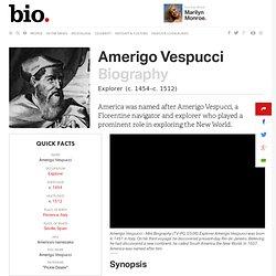 Amerigo Vespucci Biographie - Faits, Anniversaire, Life Story