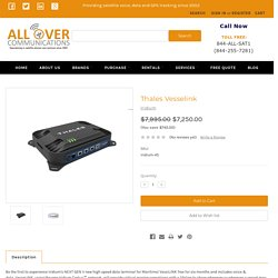 Find the best Thales Vesselink at AlloverCommunications