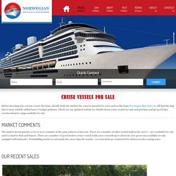 Find Cruise Vessels for Sale Worldwide at Affordable Prices