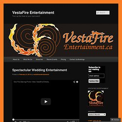 VestaFire Entertainment | Come Play With Us!