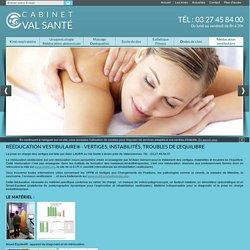 Rééducation vestibulaire Anzin, traitement vertiges & instabilités Denain