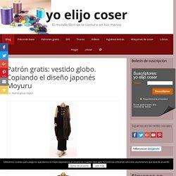 Patrón gratis: vestido globo. Copiando el diseño japonés Moyuru - yo elijo Coser