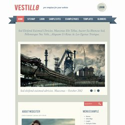 Vestillo template - free joomla templates
