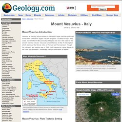 Mount Vesuvius, Italy: Map, Facts, Eruption Pictures, Pompeii