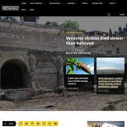 Vesuvius victims died slower than believed