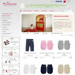Vetement bebe bio, pyjama bio : mode bébé et enfant - Prairymood.com