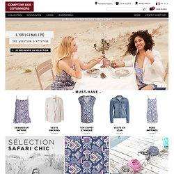 Vêtements mode et tendances pour femmes
