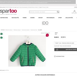 Ido 4J044 Vert - Vêtements Doudounes Enfant 37,97 €