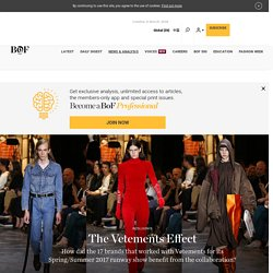 The Vetements Effect