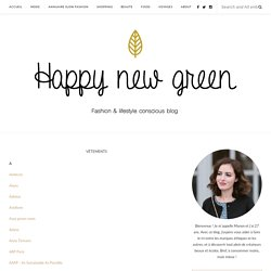 VÊTEMENTS – Happy new green