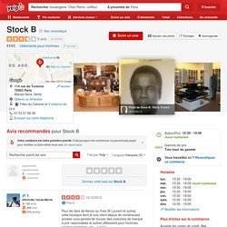 Stock B - Vêtements pour hommes - 114 rue de Turenne, Marais Nord, Paris