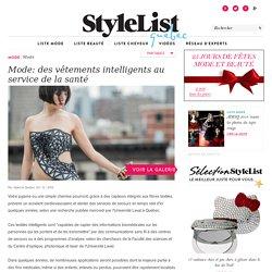 Mode: des vêtements intelligents au service de la santé