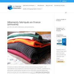 Vêtements made in France pour tous