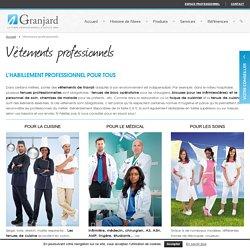 Vêtements professionnels - Granjard