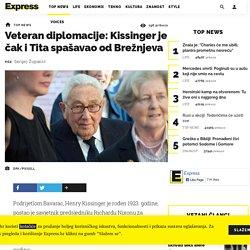 Veteran diplomacije: Kissinger je čak i Tita spašavao od Brežnjeva