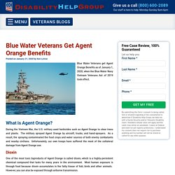 Blue Water Veterans Get Agent Orange Benefits