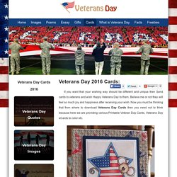 Veterans Day Cards 2016, Happy Veterans Day 2016 Greeting Cards