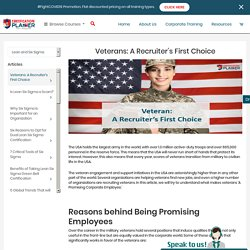 Veterans: A Recruiter's First Choice