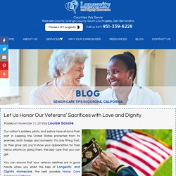 Let Us Honor Our Veterans' Sacrifices with Love and Dignity