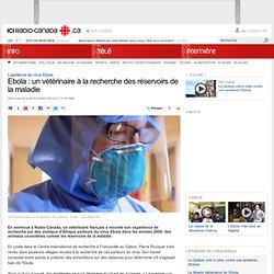 Ebola : un vétérinaire à la recherche des réservoirs de la maladie
