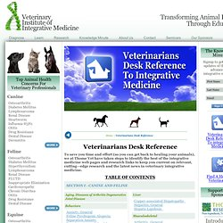 Veterinary Institute of Integrative Medicine