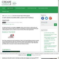 5 siti dove scaricare loghi vettoriali gratuiti – CreareLogo.it – Logo Design Blog