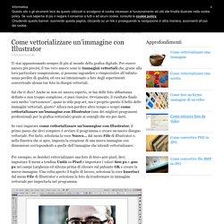 Come vettorializzare un'immagine con Illustrator