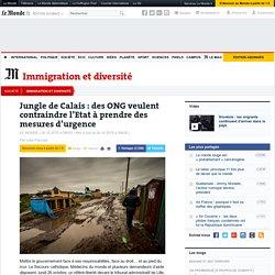 Jungle de Calais : des ONG veulent contraindre l'Etat à prendre des mesures d'urgence