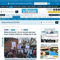 Noisy-le-Grand : ils ne veulent pas que leurs enfants aillent au collège de la cité
