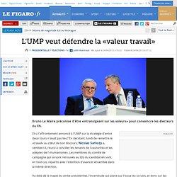 L'UMP veut défendre la «valeur travail»