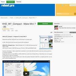 VHD_W7_Compact - Make Mini 7 -