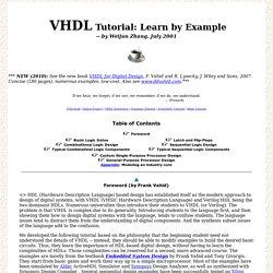 Creating a VHDL Program for Intel (Altera) FPGAs (Sec 4-4E ...