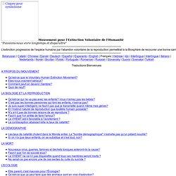 VHEMT en français - Page principale