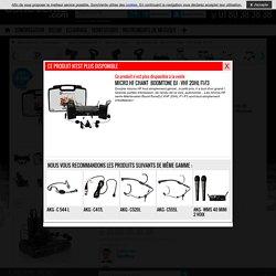 VHF 20HL F1-F3 : Micro HF Chant BoomTone DJ
