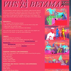 VHS vs BETAMAX by adamgryu