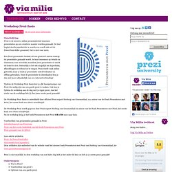 Through Milia - knowledge for the Web