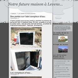 Notre future maison à Levens… » 7- Les viabilités en bordure de terrain…