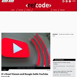 viacom vs youtube Viacom international, inc v youtube, inc, no 07 civ 2103, is a us district court for the southern district of new york case in which viacom sued youtube.