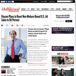 Viacom Plans to Boost Non-Nielsen-Based U.S. Ad Sales to 50 Percent
