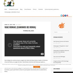 Viae Romae (Caminos de Roma) - Javi Gómez