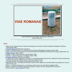 Viae Romanae