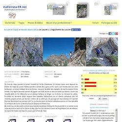 L'Aiguillette du Lauzet / Le Lauzet (Dép. 05 Hautes-Alpes) [ViaFerrata-FR.net]