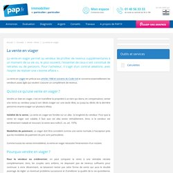 L gislation proc dures assurance pearltrees - Definition vente en viager ...