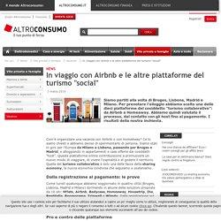 """In viaggio con Airbnb e le altre piattaforme del turismo """"social"""""""