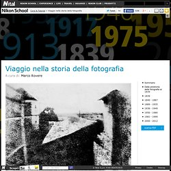 Viaggio nella storia della fotografia